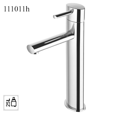 111011h High Single Lever Basin Mixer OVAL