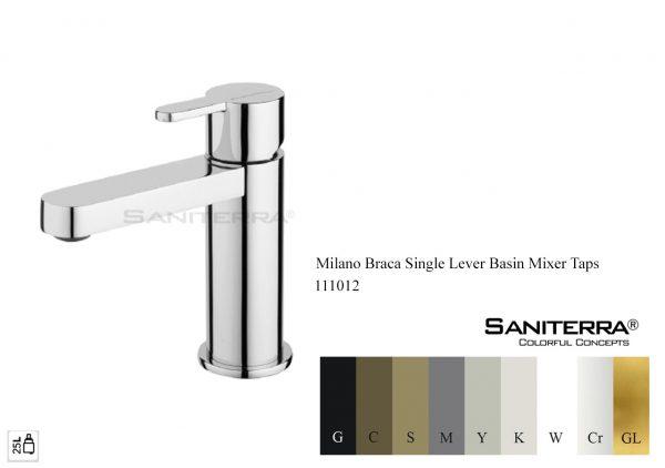 111012 Single Lever Basin Mixer BRACA