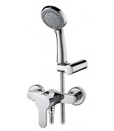 121014 Shower Mixer EKO 175 mm