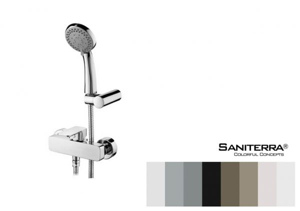 122013 Shower Mixer MOON 180 mm