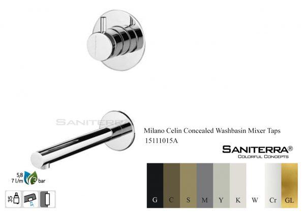 15111015A Concealed Washbasin Mixer CELIN