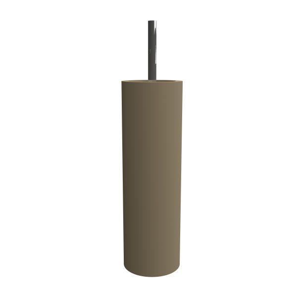 #53101218 SOLID SURFACE Toilet Brush Holder BRACA