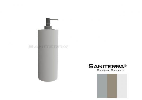 #53101213 SOLID SURFACE Soap Dispenser BRACA