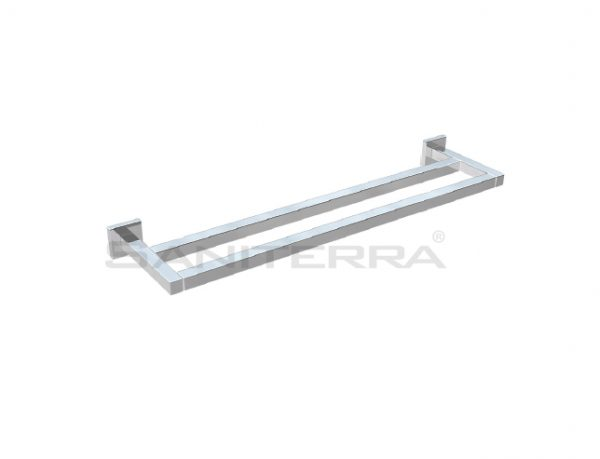 #54201102X Brass Double Towel Rail PLAN