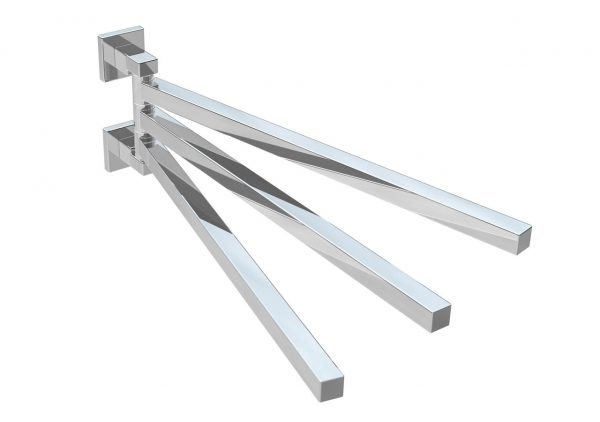 #54201105 Brass Adjustable Towel Rail PLAN