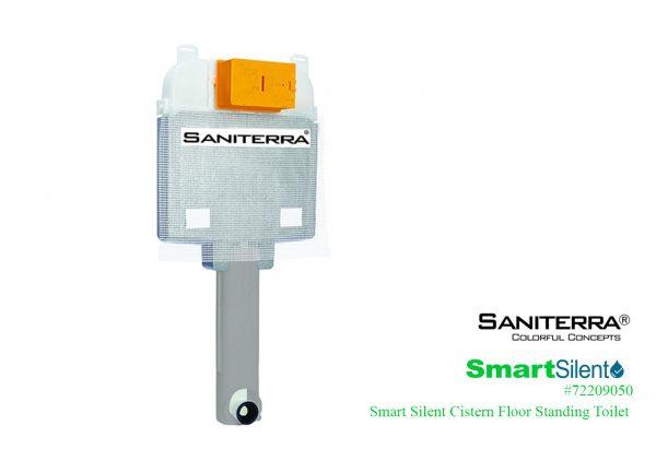 72209050 Smart Silent Cistern Floor Standing Toilet
